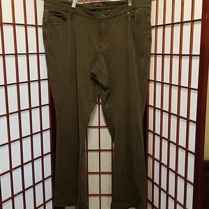 Dark green size 20 Coldwater Creek jeans
